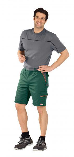 Arbeitsshorts VISLINE grün, orange, schiefer Gr. XS
