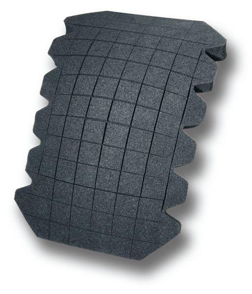 Einlegekniepolster Universal, Maxi-16, schwarz