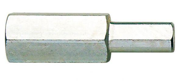 Bohrfutteranschluss 3-kant auf M 14 innen