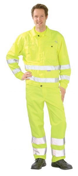 Warnschutz Bundjacke uni gelb Gr. 24