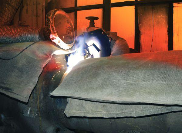 Isoliermatte 1000 x 1000 x 20 mm, bis 500°C