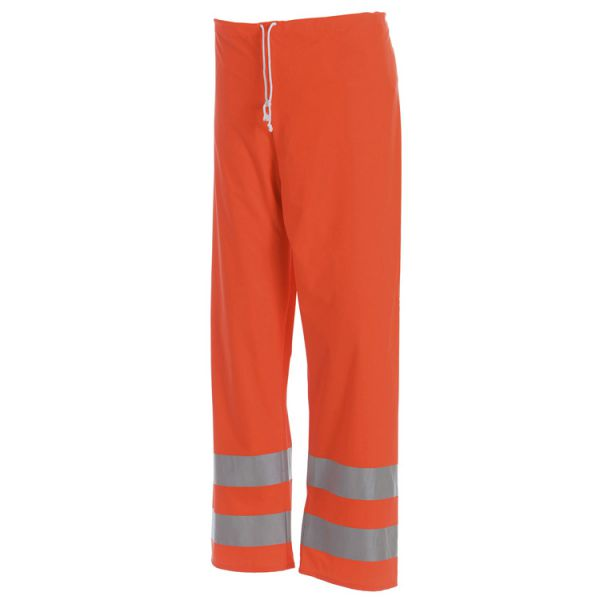 High Vis Regenhose 1384 orange Gr. S