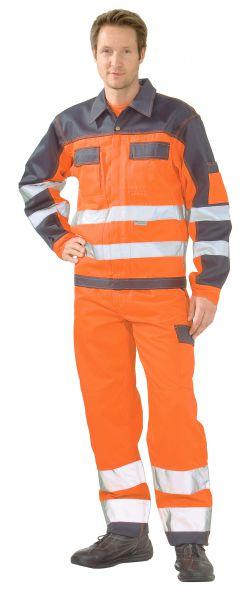 Warnschutz Bundjacke orange, marine Gr. 24
