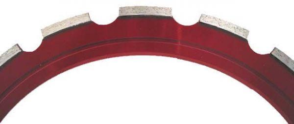 Diamant-Spezial-Sägering rot 350 mm