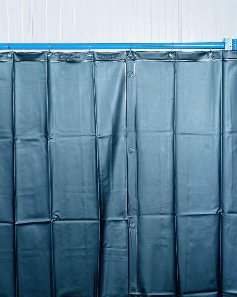 Schweißerschutzvorhang dunkelgrün 1300 x 1800 x 0,4 mm
