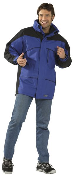 Speed Jacke royalblau, schwarz Gr. S