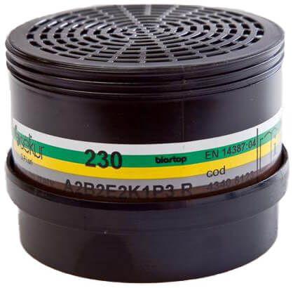 Mehrbereichs-Kombinationsfilter 230 A2B2E2K1-P3