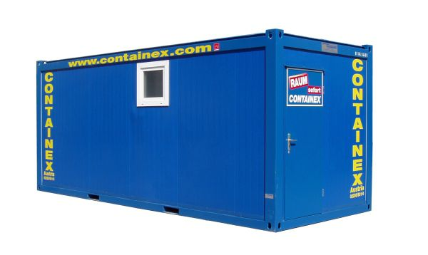Sanitärcontainer 20'