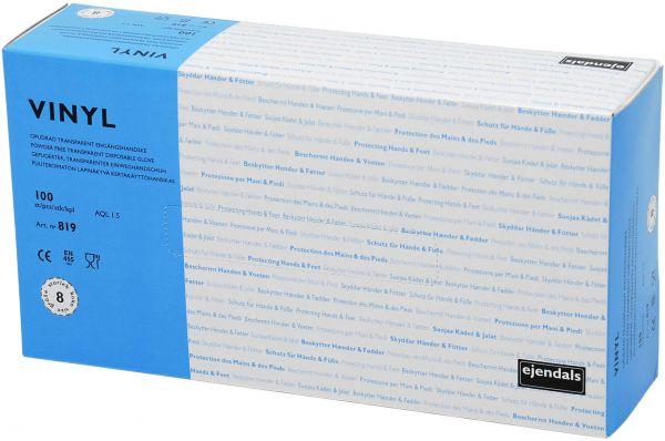 Untersuchungshandschuhe 819 TEGERA Basic, Vinyl, ungepudert, Gr. 7