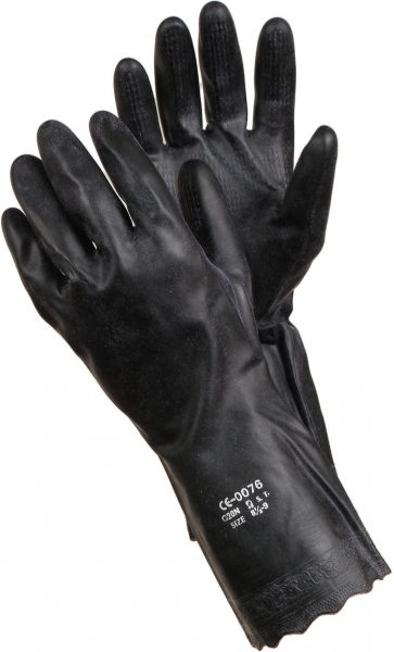 Chemiekalienhandschuhe 8195 TEGERA Classic, PVC, halblang, Gr. 8