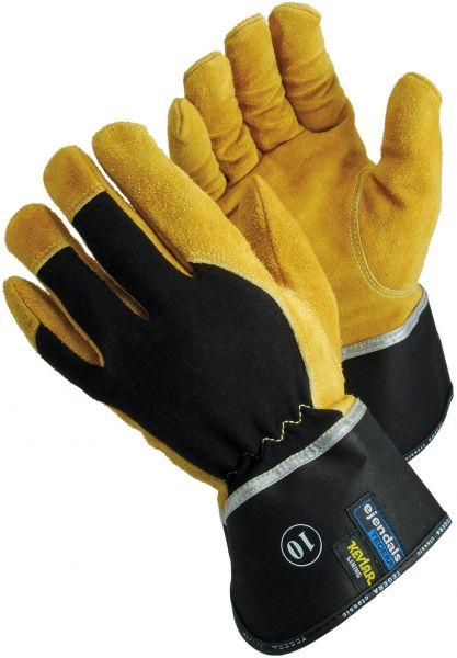 Schnittschutzhandschuhe 139 Tegera Classic, Rindsspaltleder, Baumwolle, Gr. 7