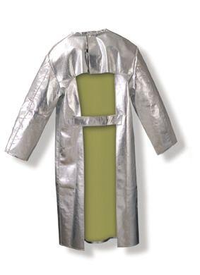 Frontalschutzmantel Gr. 48, mit Klettverschluß, 500 g, m², bis 1000°C