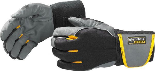 Handschuhe handgelenkgestützt 9195 TEGERA PRO, MICROTHAN, Lycra, Gr. 5