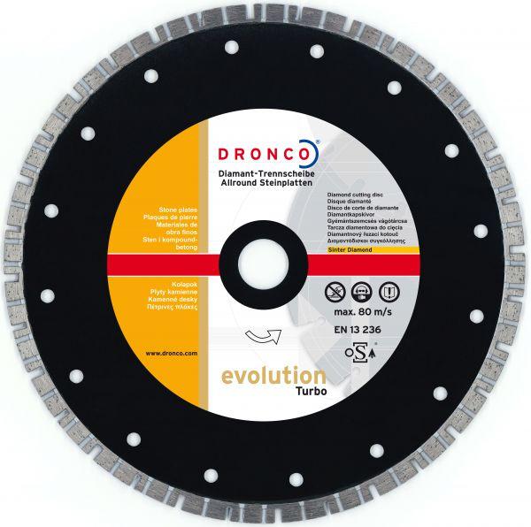 Diamant-Trennscheibe Evolution Turbo 115 x 2,2 x 22,23 mm