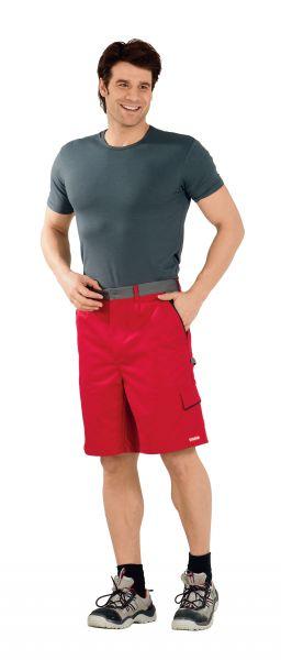 Arbeitsshorts HIGHLINE rot, schiefer, schwarz Gr. XS