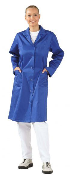 Damen Berufsmantel MG 230 1, 1 Arm kornblau Gr. 36